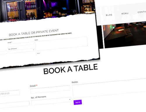 Booking System for Business